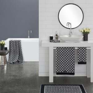 New York Towels from the Moran Home Bathroom Collection